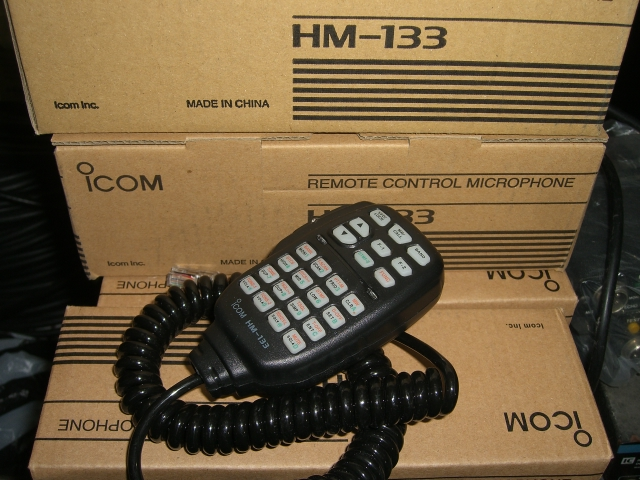 MICROPHONE ICOM HM-133 ~ SAE HOBBIES communication jual ...