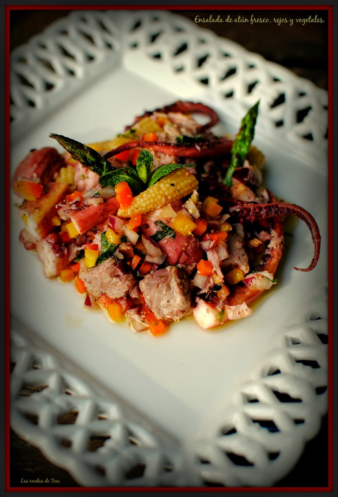 ensalada de atún fresco rejos y vegetales tererecetas 02