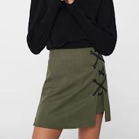 Jupe culotte lanière