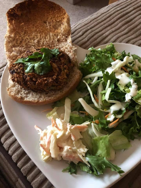 Reader's photo of 10 minute bean burger