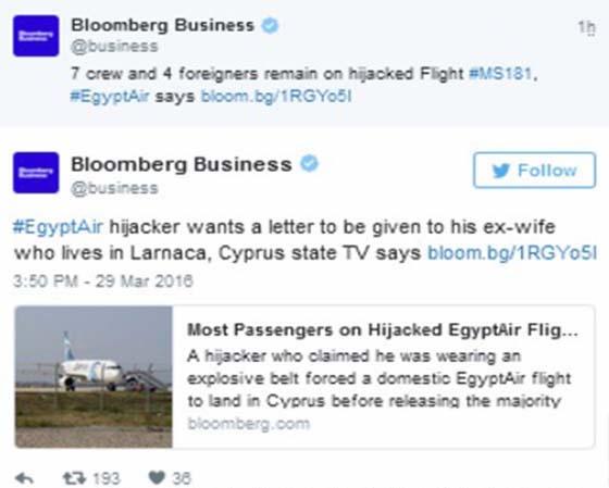 Ibrahim Samaha Rampas Pesawat MS181 EgyptAir Untuk Berjumpa Isteri