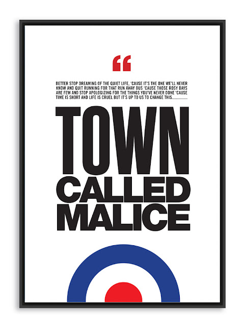 The Jam Town Called Malice Poster