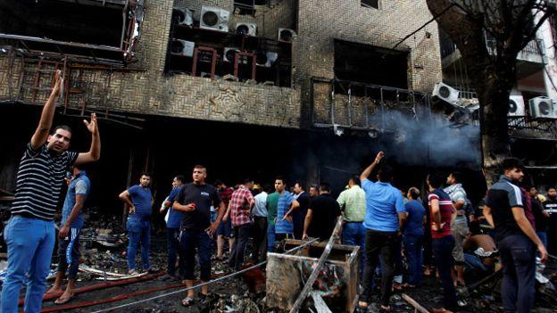عاجل...العراق يعلن الحداد العام بعد تفجيرات دامية في بغداد