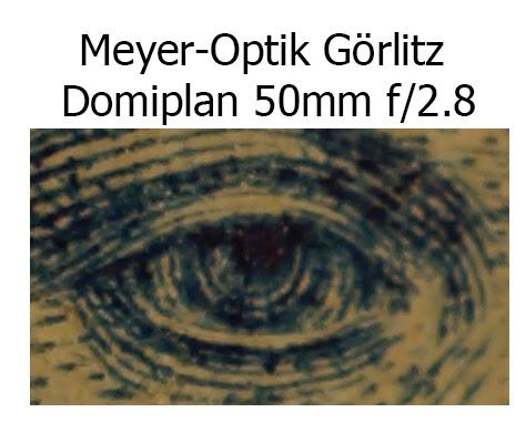 Meyer-Optik Görlitz Domiplan 50mm f/2.8