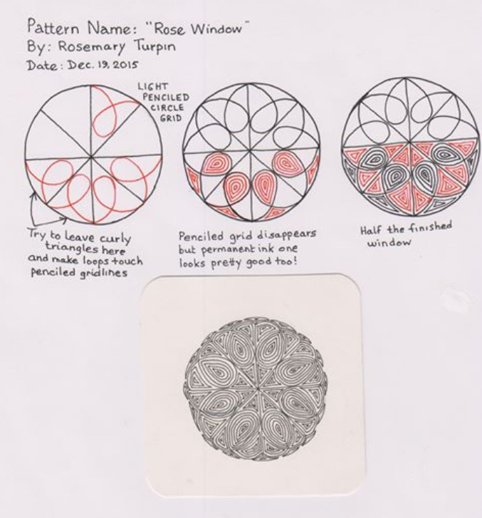 Inkidoodles Com Melinda Barlow Czt Zentangle Art Lesson Rose
