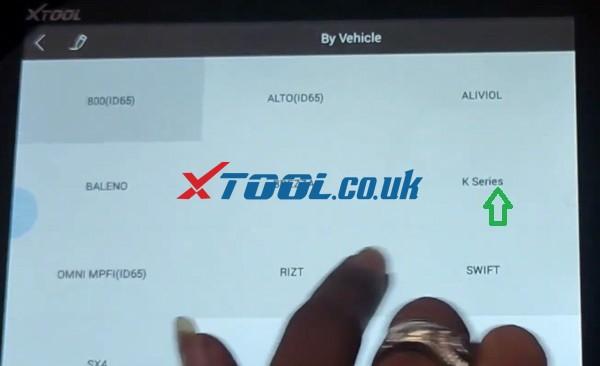 Xtool X100 Pad2 Program 2017 Suzuki Omni All Keys Lost  05