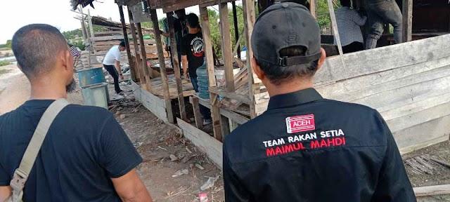 DPW Muda Seudang Langsa Bedah Rumah