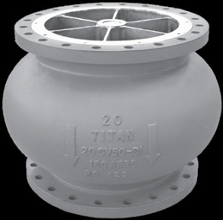 Large industrial check valve
