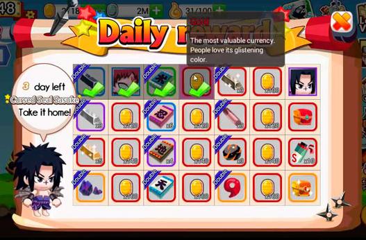 akun ninja heroes banyak gold gratis
