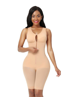Loverbeauty Full Body Shaper Tummy Control Bodysuit