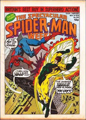 Spectacular Spider-Man Weekly #349, the Fly