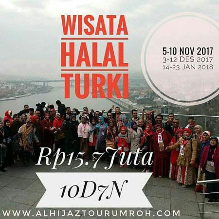 Paket City Tour Turki 10 Hari Wisata Halal