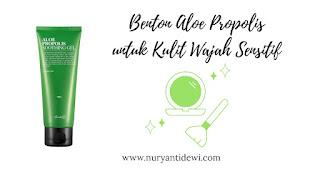 Benton Aloe Propolis untuk Kulit Wajah Sensitif
