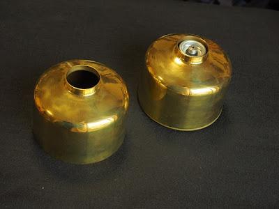 真鍮製のOD缶用ガス缶カバー