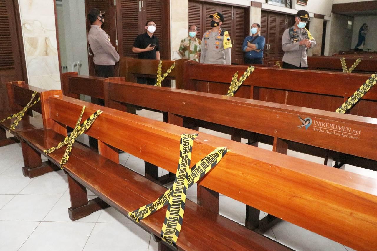 Jelang Perayaan Natal, Kapolres Kebumen Datangi Gereja di Gombong