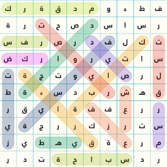 حل المرحلة 13 هــوايات من المجموعة 1 لعبة كلمة السر2