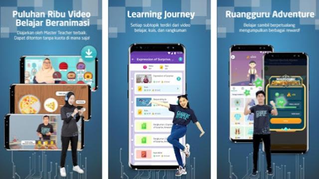 Aplikasi bimbel online berbayar terbaik