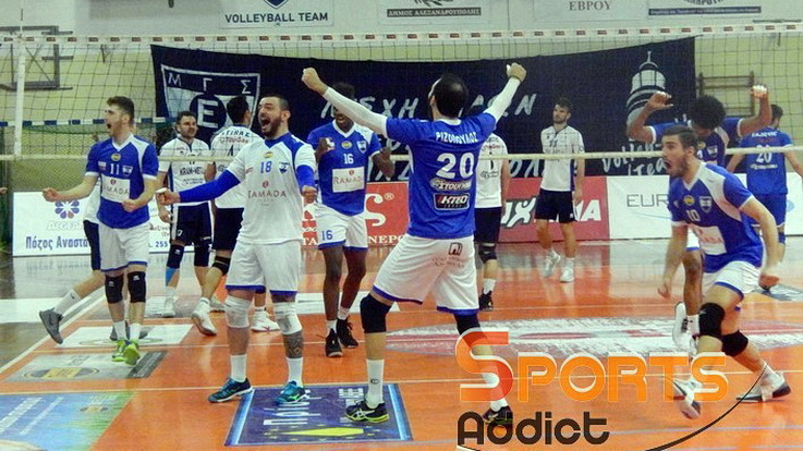 Ο Εθνικός Αλεξανδρούπολης εξασφάλισε την παραμονή του στην Volley League