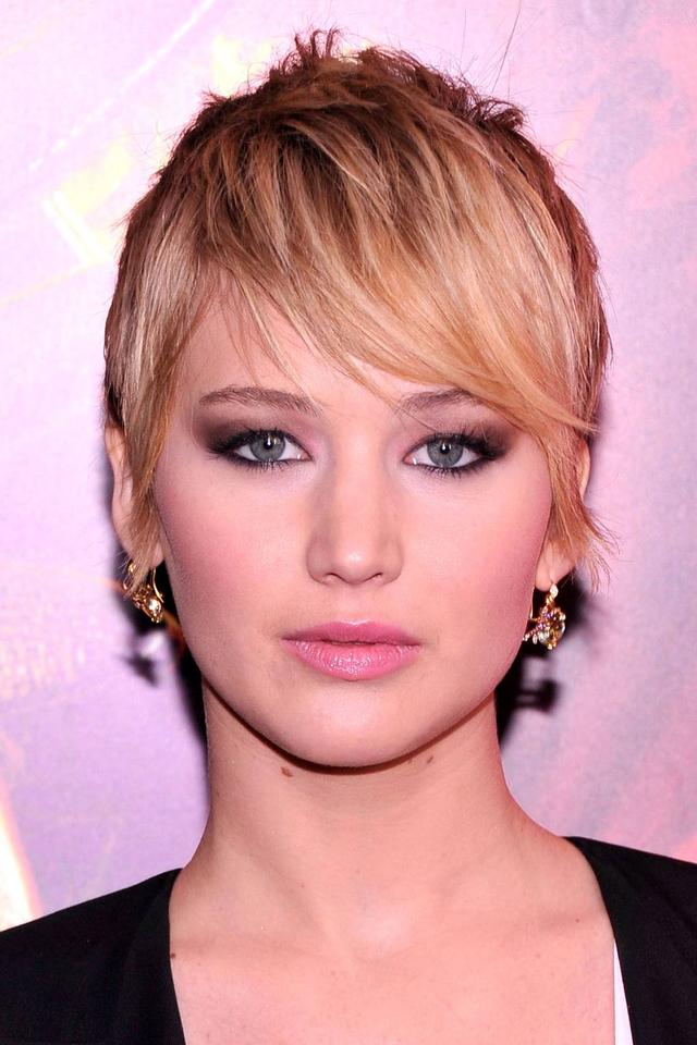 Jennifer Lawrence's short haircut