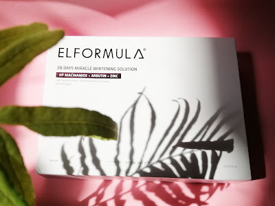 Review Elformula 28 Days Miracle Whitening Solution