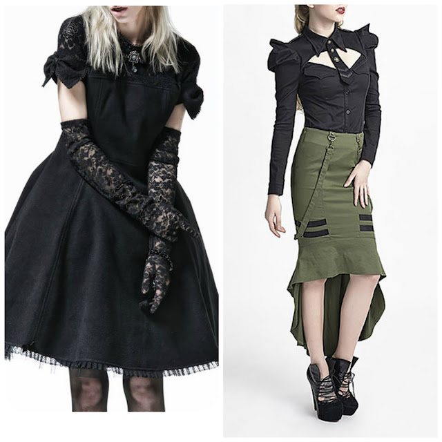 goth lolita punk rave military designer clothes