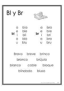 Lecturas sílabas trabadas para imprimir pdf