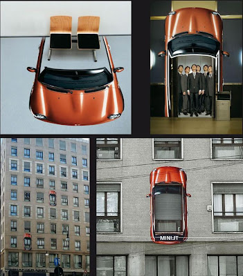 Clever and Creative MINI Cooper Advertisements (20) 7