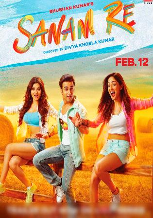 Poster of Sanam Re Full Hindi Movie Download Hd