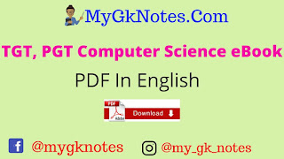 TGT, PGT Computer Science eBook PDF In English