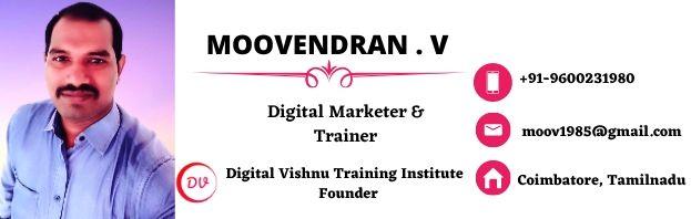 Digital Vishnu - Professional Digital Marketing Course Training in Coimbatore