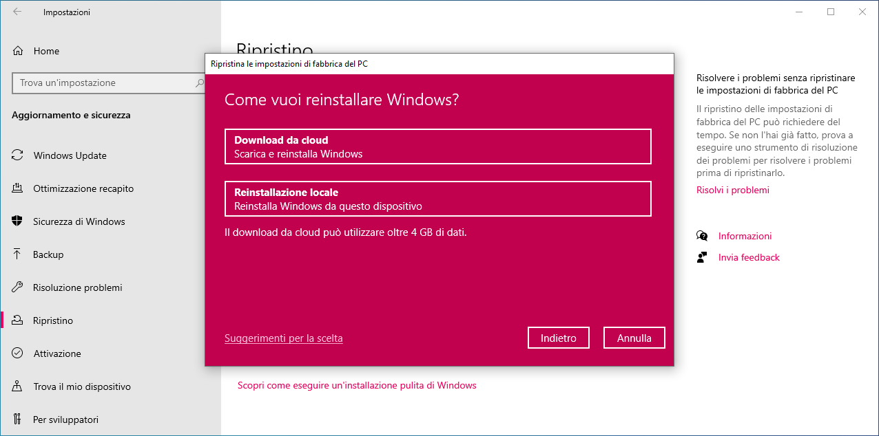Windows-10-Ripristino-dal-cloud
