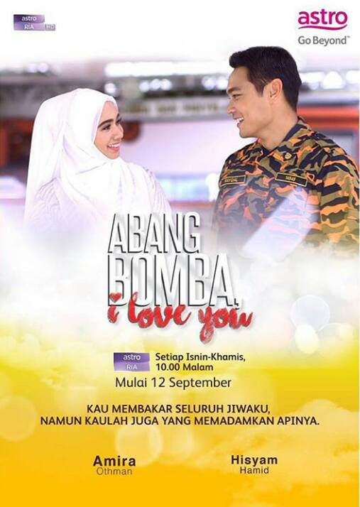 Lagu Tema OST Drama Abang Bomba I Love You