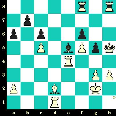 Les Blancs jouent et matent en 2 coups - Anatoly Karpov vs Piotr Mickiewicz, Koszalin, 1997