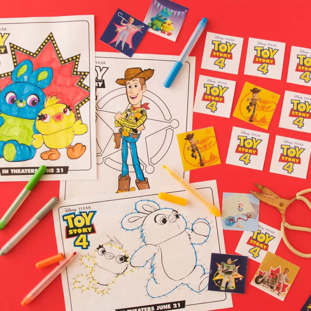 Toy Story 4 Free Printable Activity Book