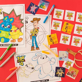 Toy Story 4 Free Printable Activity Book.