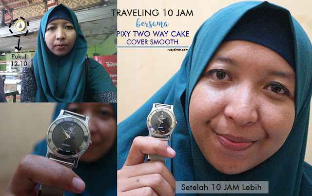 Bedak, Beauty, PIXY Two Way Cake Cover Smooth, Make Up