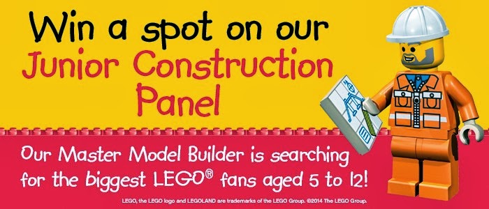Win a spot on the LEGOLAND Boston Junior Construction Panel. Entries accepted until 3/14.