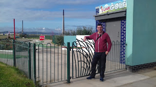Crazy Golf at Drift Park in Rhyl