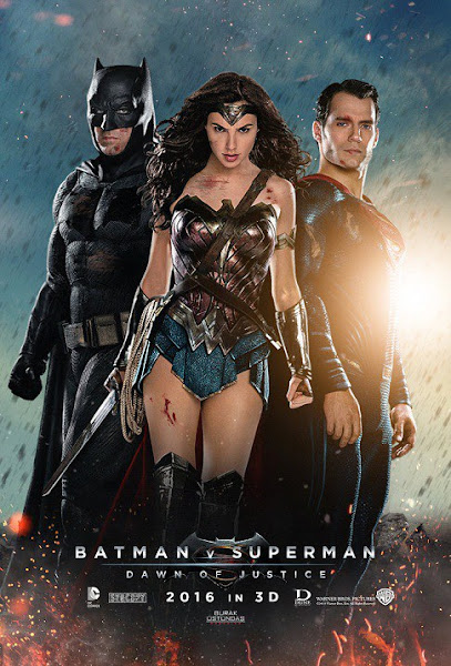 Poster Of Batman V Superman Dawn Of Justice 2016 EXTENDED 720p BRRip Download
