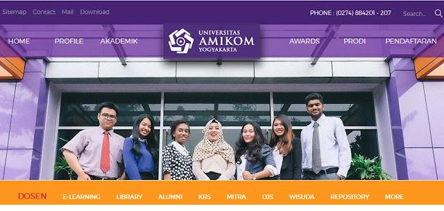 informasi lengkap terkait biaya kuliah dan beasiswa di Universitas Amikom Yogyakarta