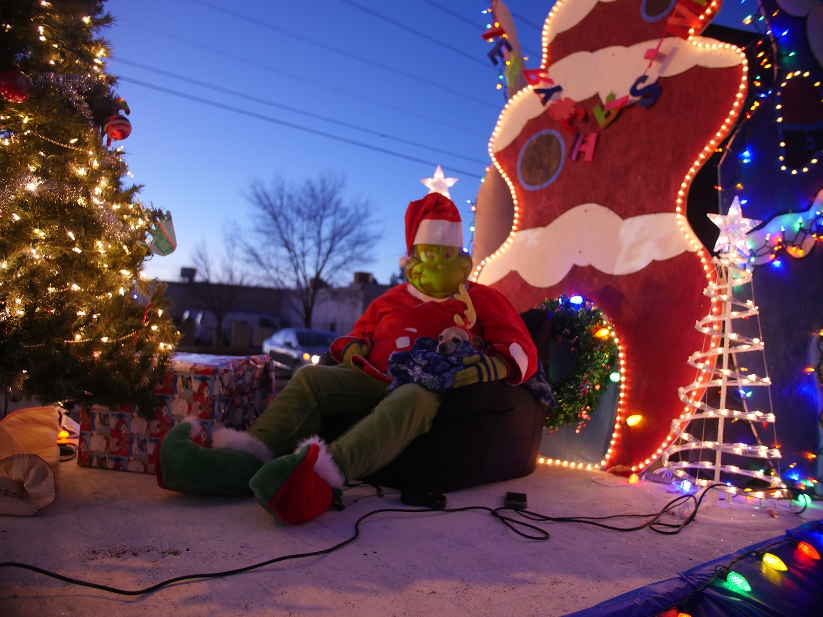 The Grinch Christmas Float Ideas.Cc Afterschool 5 Steps To Rocking A Twinkle Light Parade