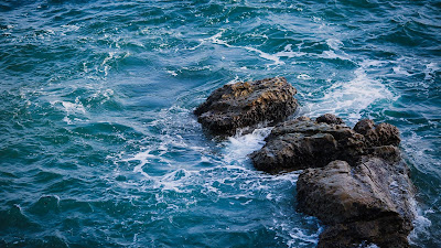 Wallpaper free sea, waves, stones