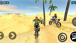 Beach Motorbike Stunts Master - apk download   Bike games to download   Bike wala game