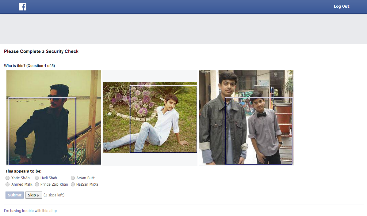 Facebook Photo Verification Solution
