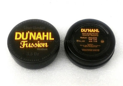 Du'nahl Fussion Medium Unorthodox Water Oil Pomade