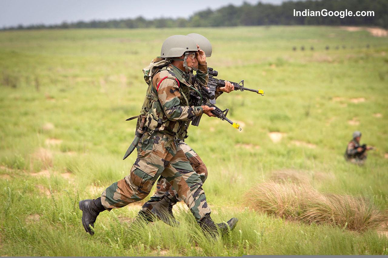 Indian military man
