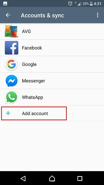 كيفية تغيير وحذف حساب Google في الهاتف إستبدال حساب جوجل في هاتف الاندرويد change google account