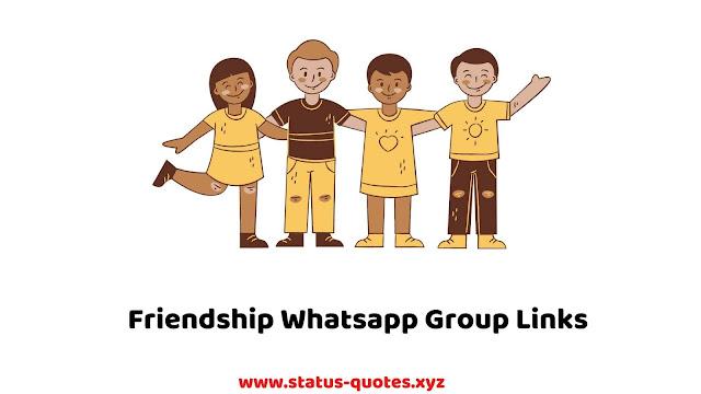 50+ Friendship Whatsapp Group : Join & Share whatsapp groups