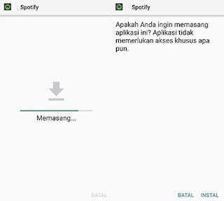 Install Spotify Premium mod apk
