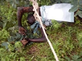 Photos: Alleged Thief Gets Electrocuted While Trying To Steal Cable In Niger State 1